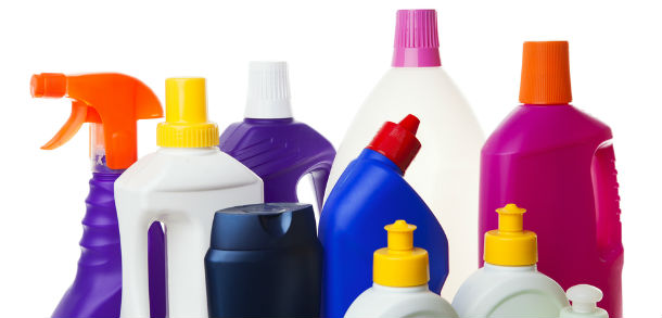 Chemicals from a household